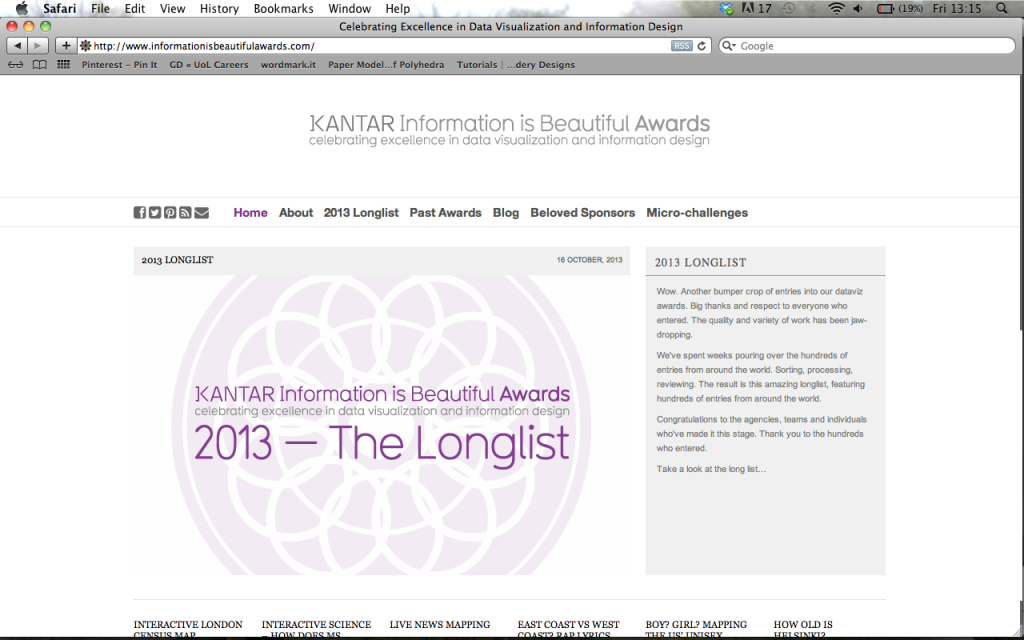 The Longlist