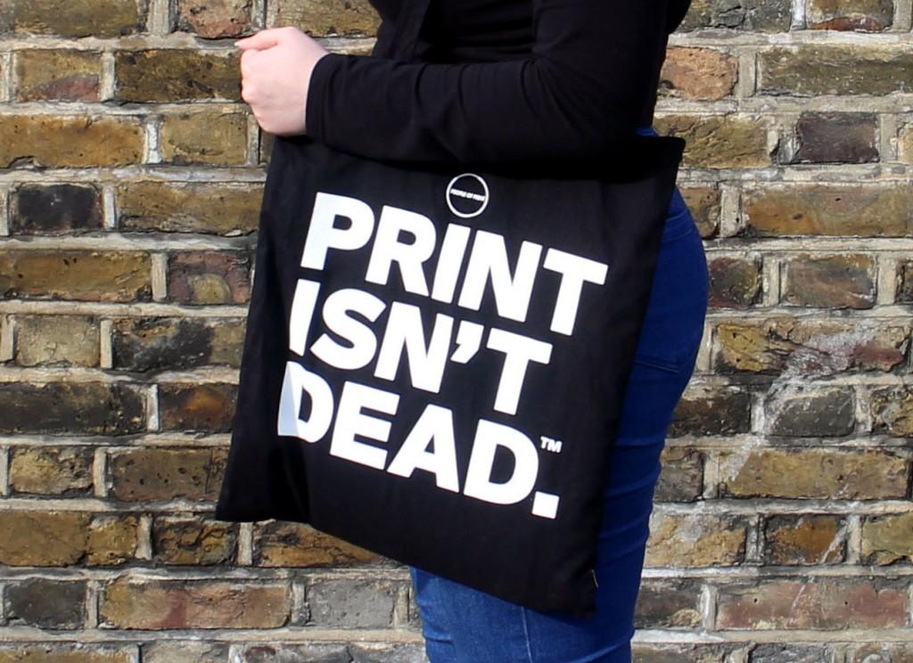Totes Amaze: Print isn't dead