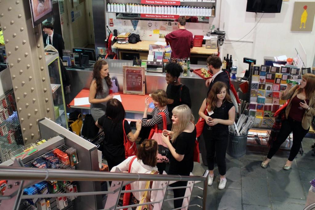 London Graphic Centre Blogger Night