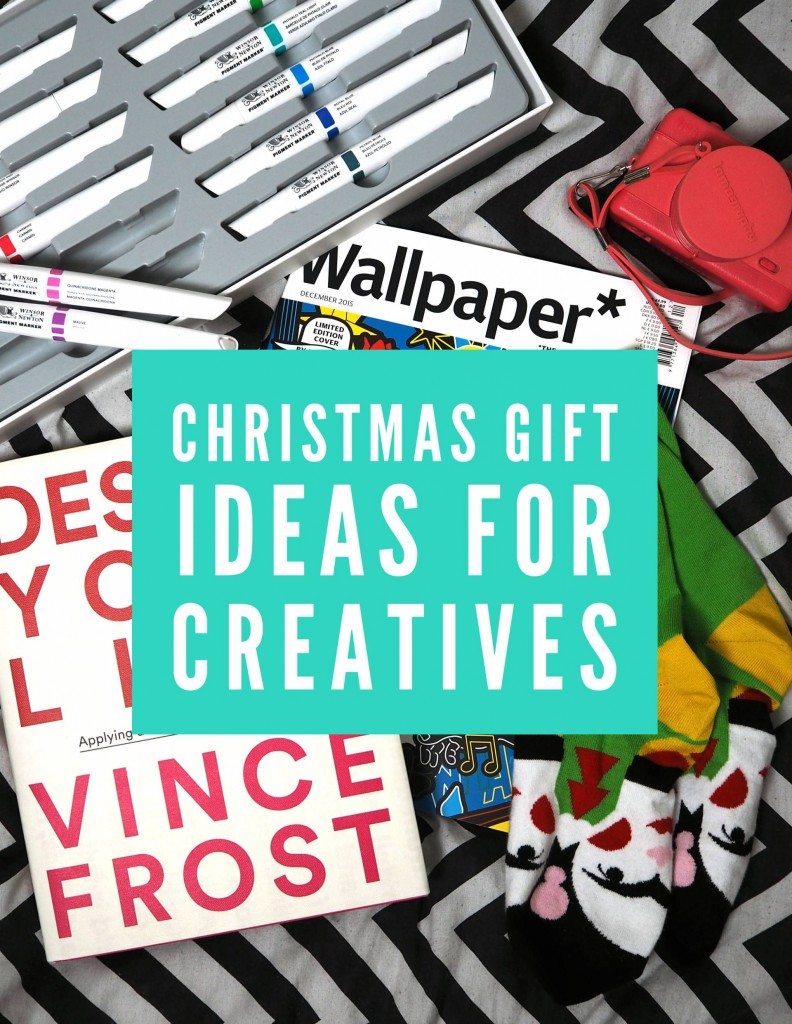 Christmas Gift Ideas For Creatives