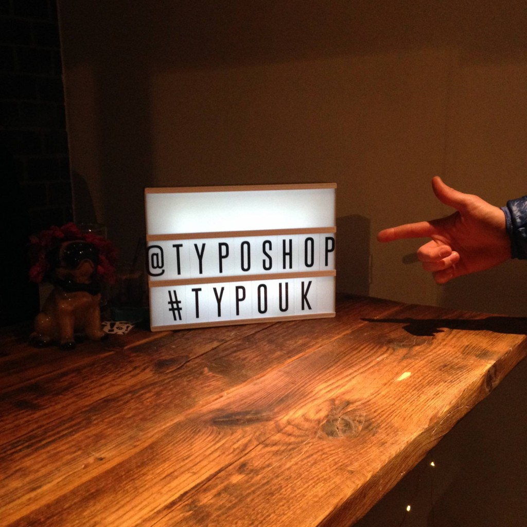 Typo UK Launch