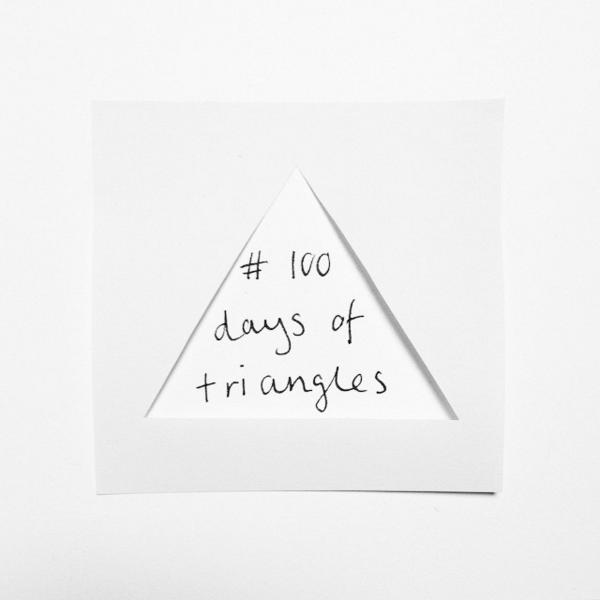 100daysoftriangles