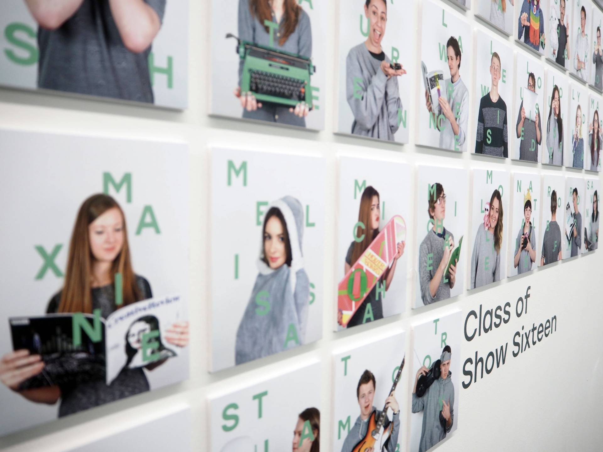 Show Sixteen University of Lincoln Graphic Design