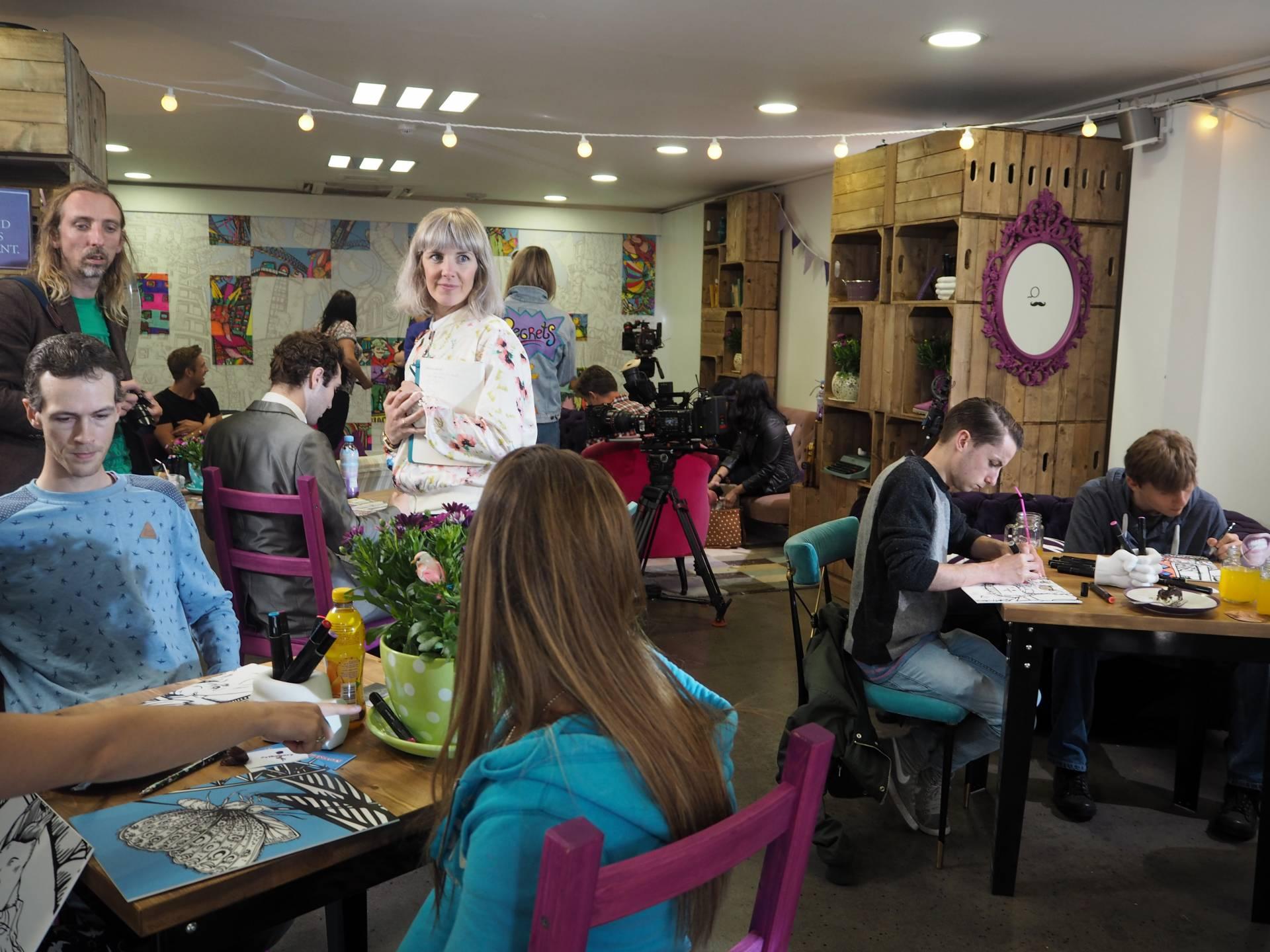 Ribena Colouring Cafe