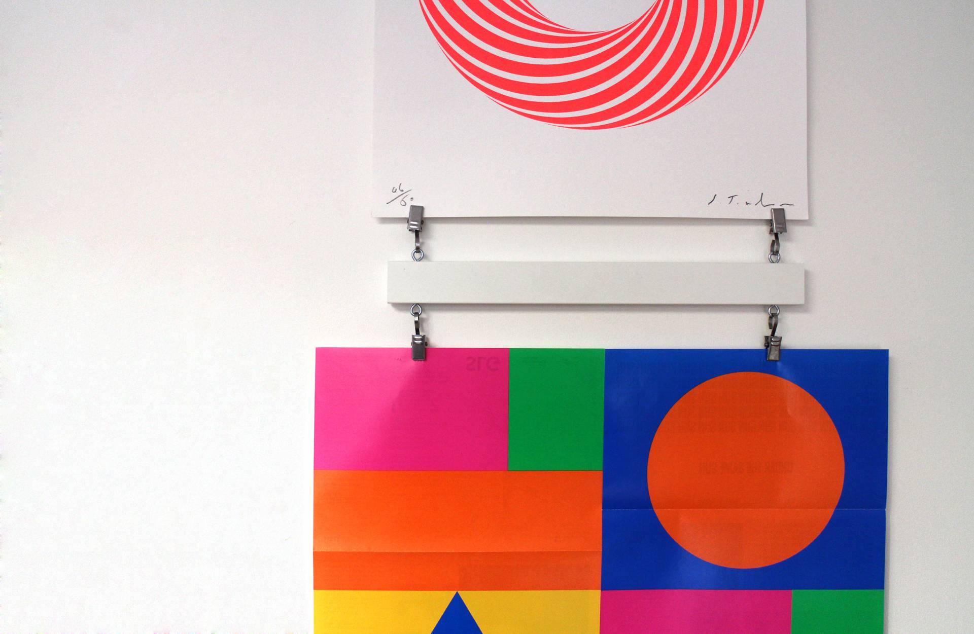 Graphic Design inspired Interior Design