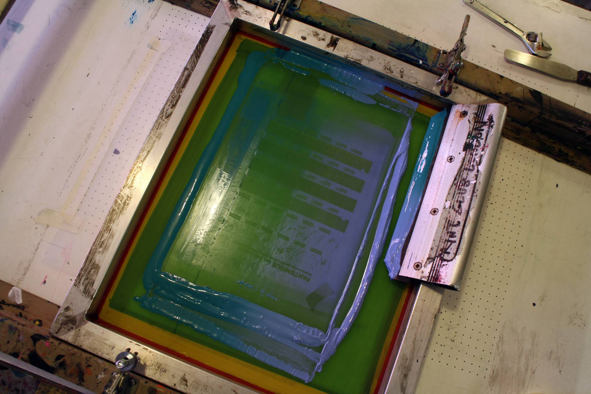 Screen Printing Print Club London