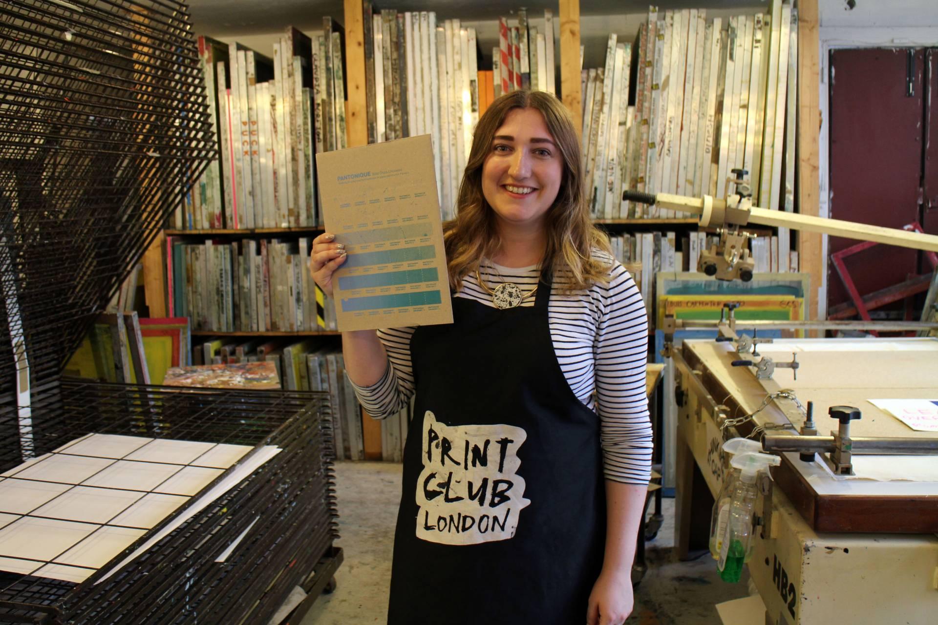 Screen Printing Workshop Print Club London