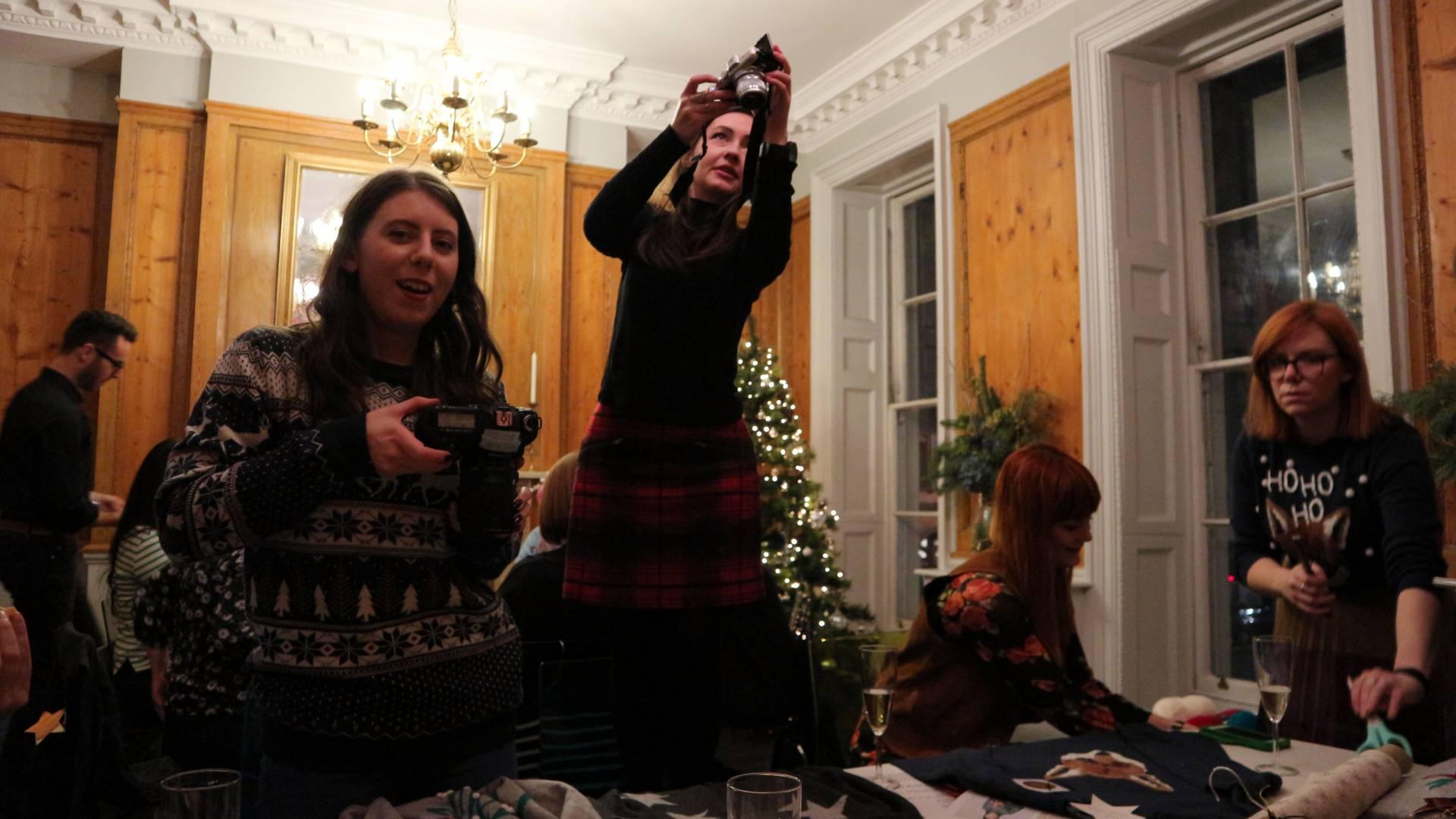 John Lewis Christmas Blogger Party