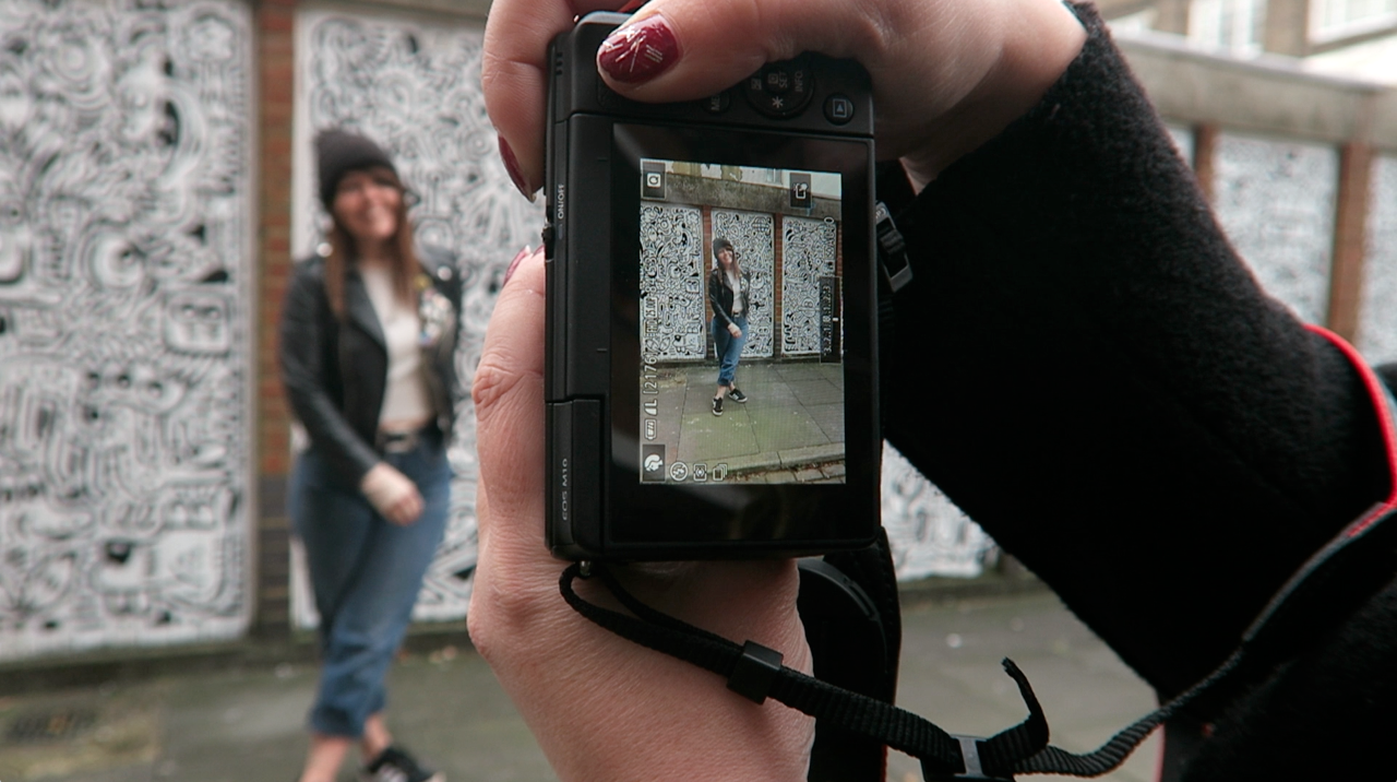 Behind the scenes Blogger Fashion shoot