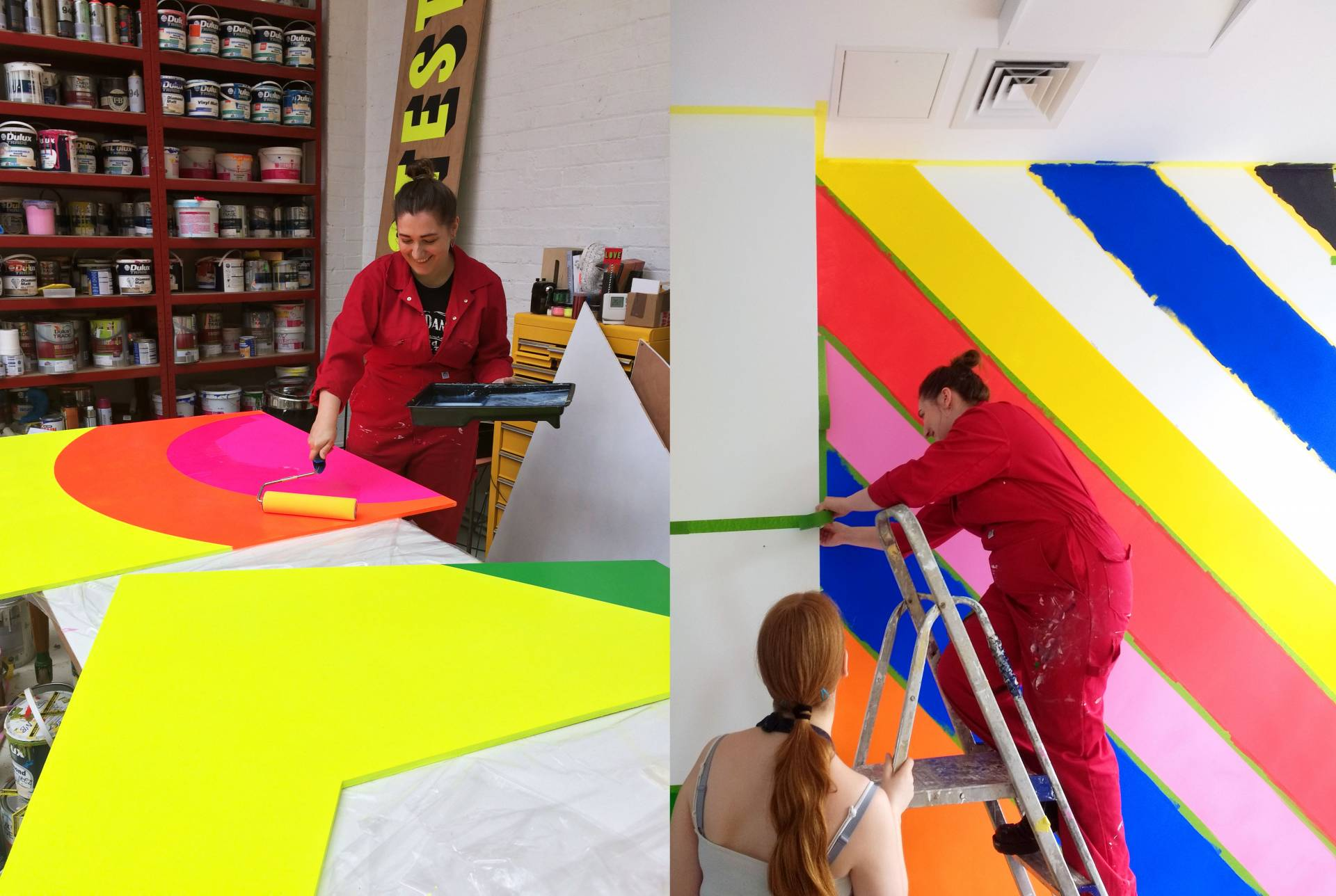 Painting with Morag Myerscough