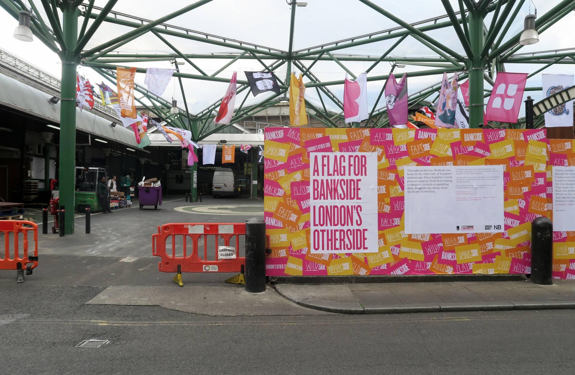 Bankside Borough Market Flags
