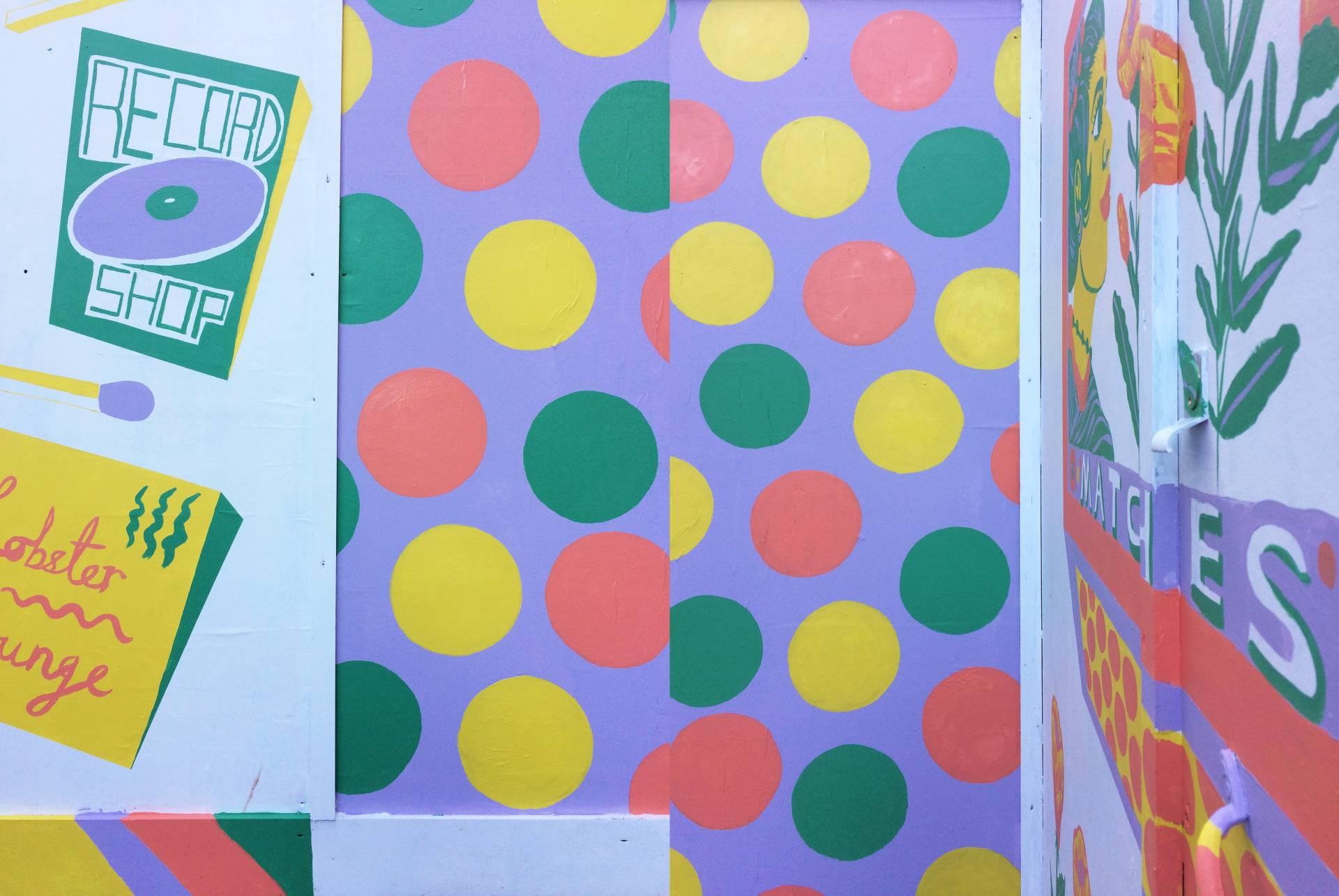 Mural Jacqueline Colley Aleesha Nandhra