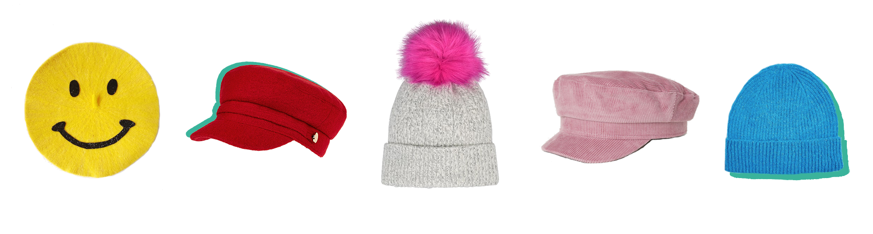 Colourful Winter Hats