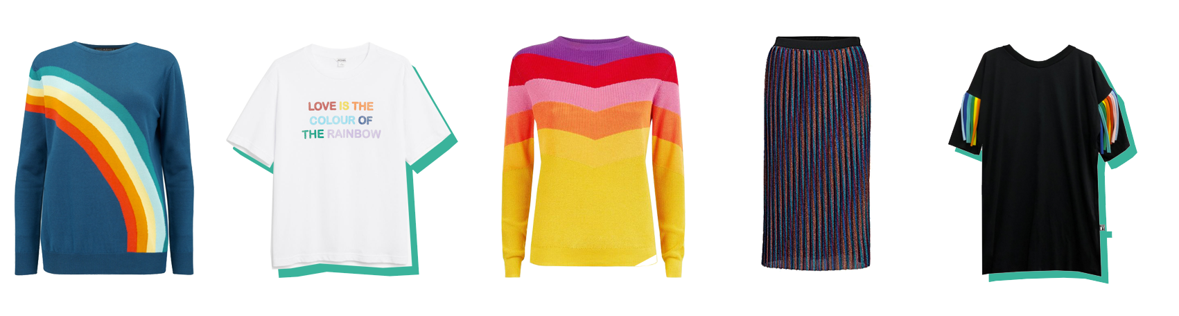 How to wear Rainbow