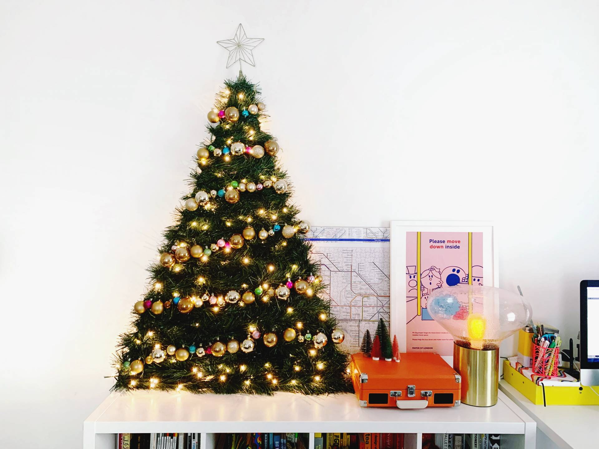 Space Saving Christmas Tree