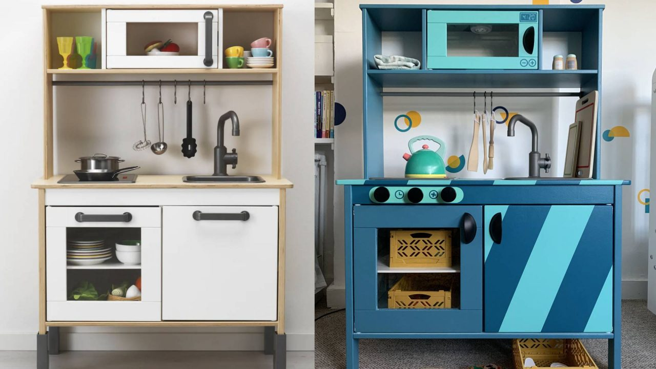 DIY IKEA Duktig Play Kitchen – The Process