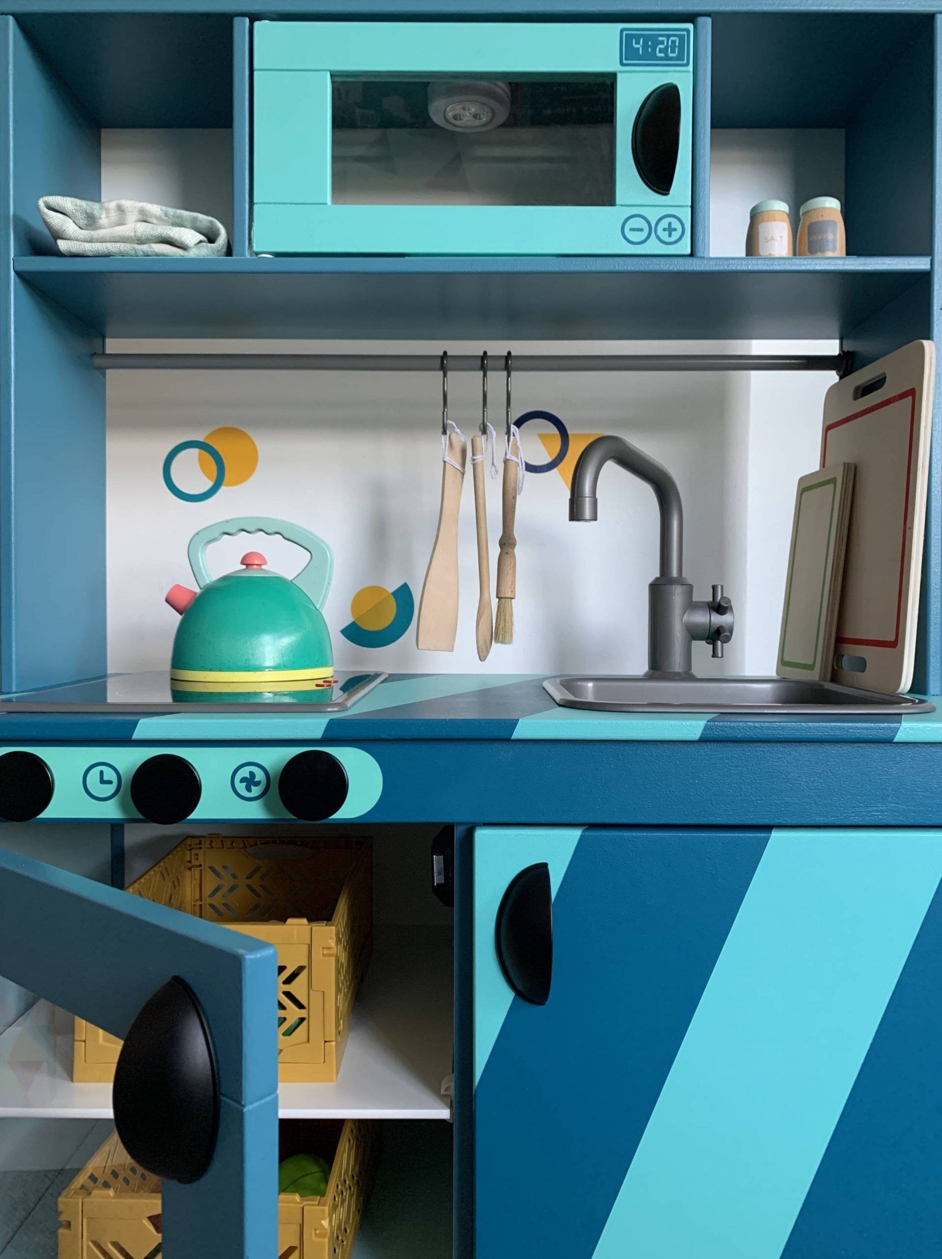 IKEA play kitchen DIY