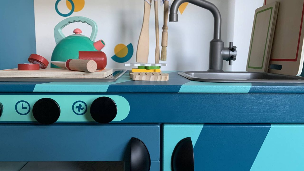 DIY IKEA Duktig Play Kitchen – The Reveal
