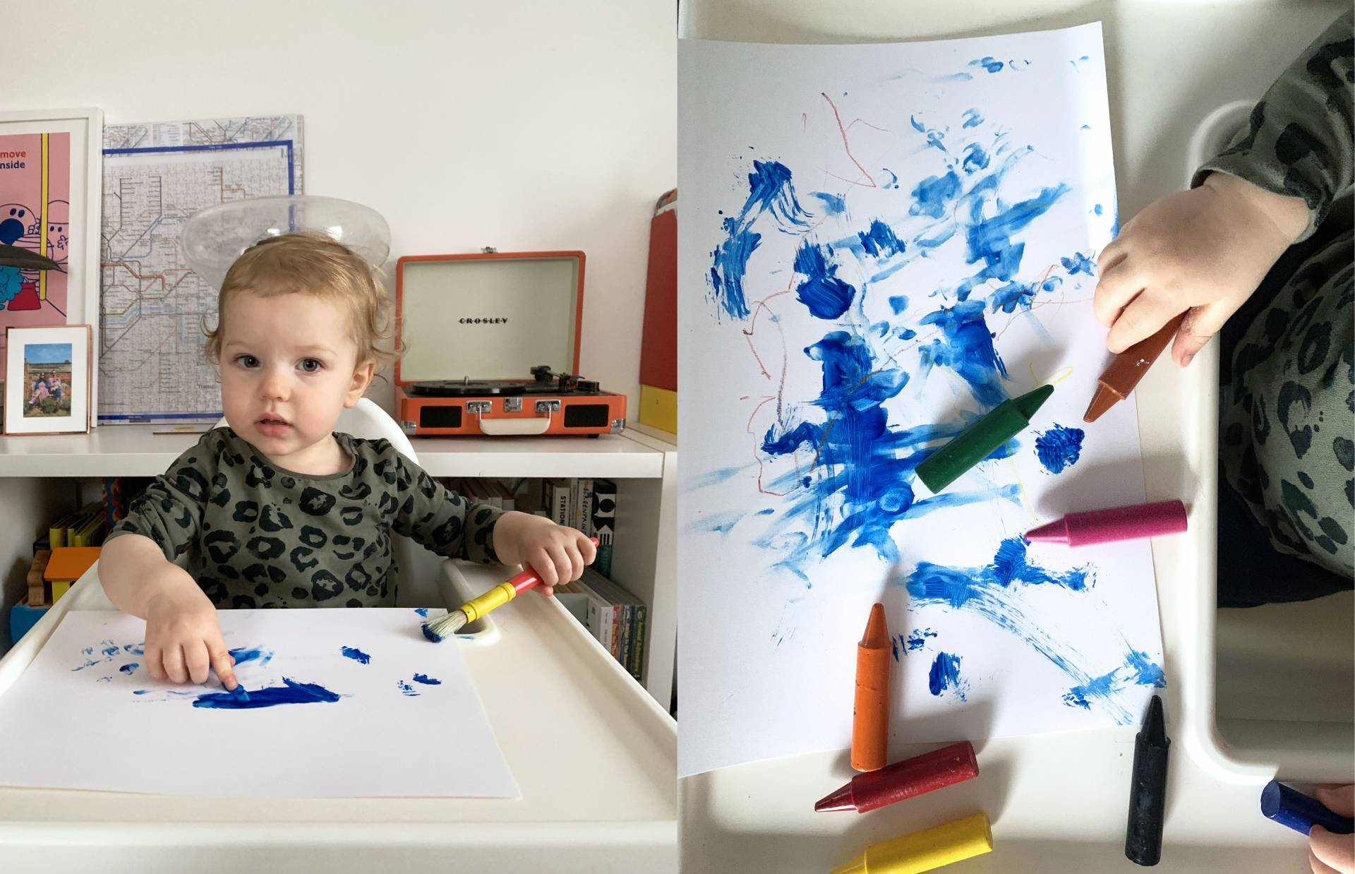 Abstract art by children